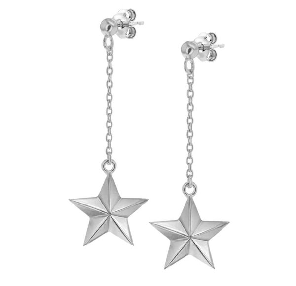 star-earrings-silver