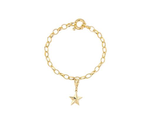 bracelet-star-gold