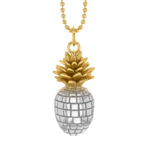 2 Tone Pineapple Pendants