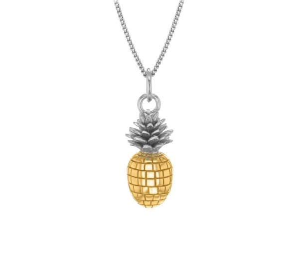 pineapple-small-silver-gold