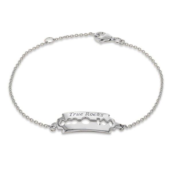 razor blade bracelet