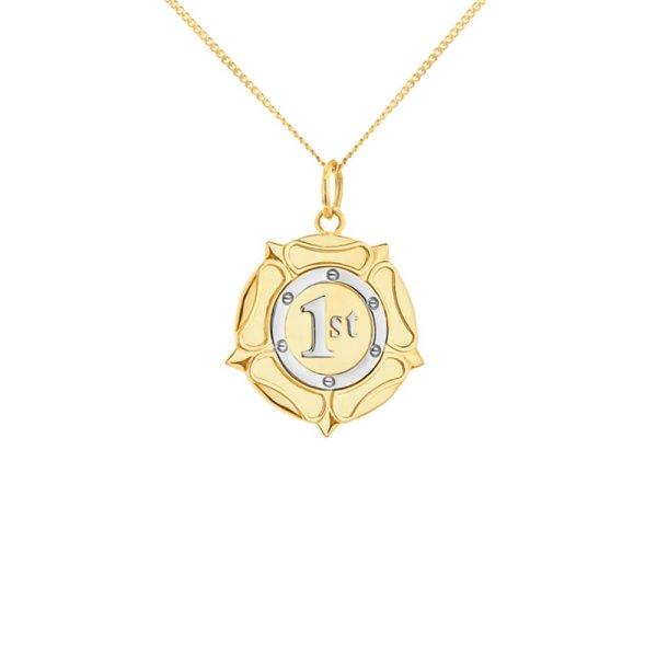 2-tone-rozette-gold-silver-mini-pendant
