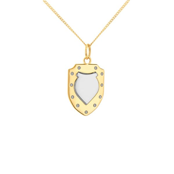 2-tone-shield-gold-silver-mini-pendant