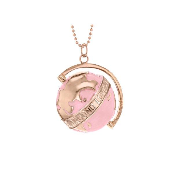 globe large light pink