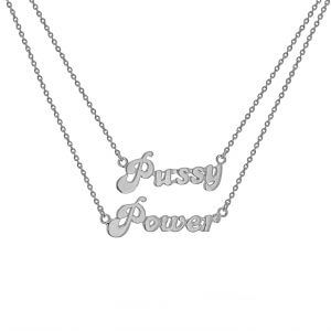 pussy power necklace
