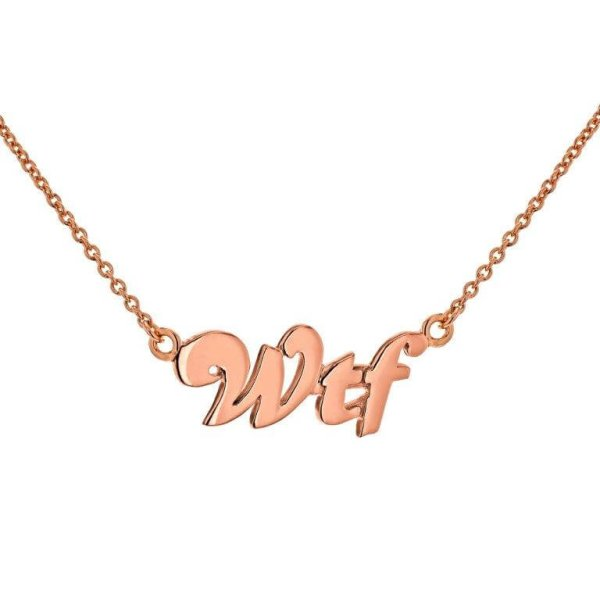 WTF necklace rose – Copy