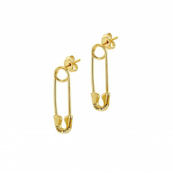Gold Pin Earring
