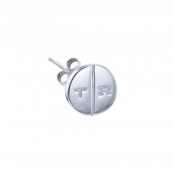 STERLING SILVER SINGLE ROUND PILL STUD