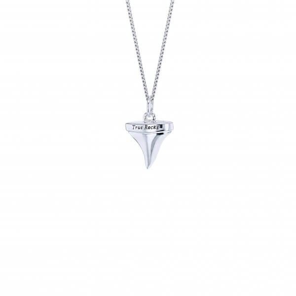 Silver Sharks Tooth on Fine Chain