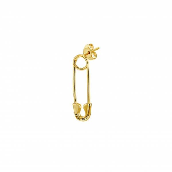Stud Single Gold Safety Pin